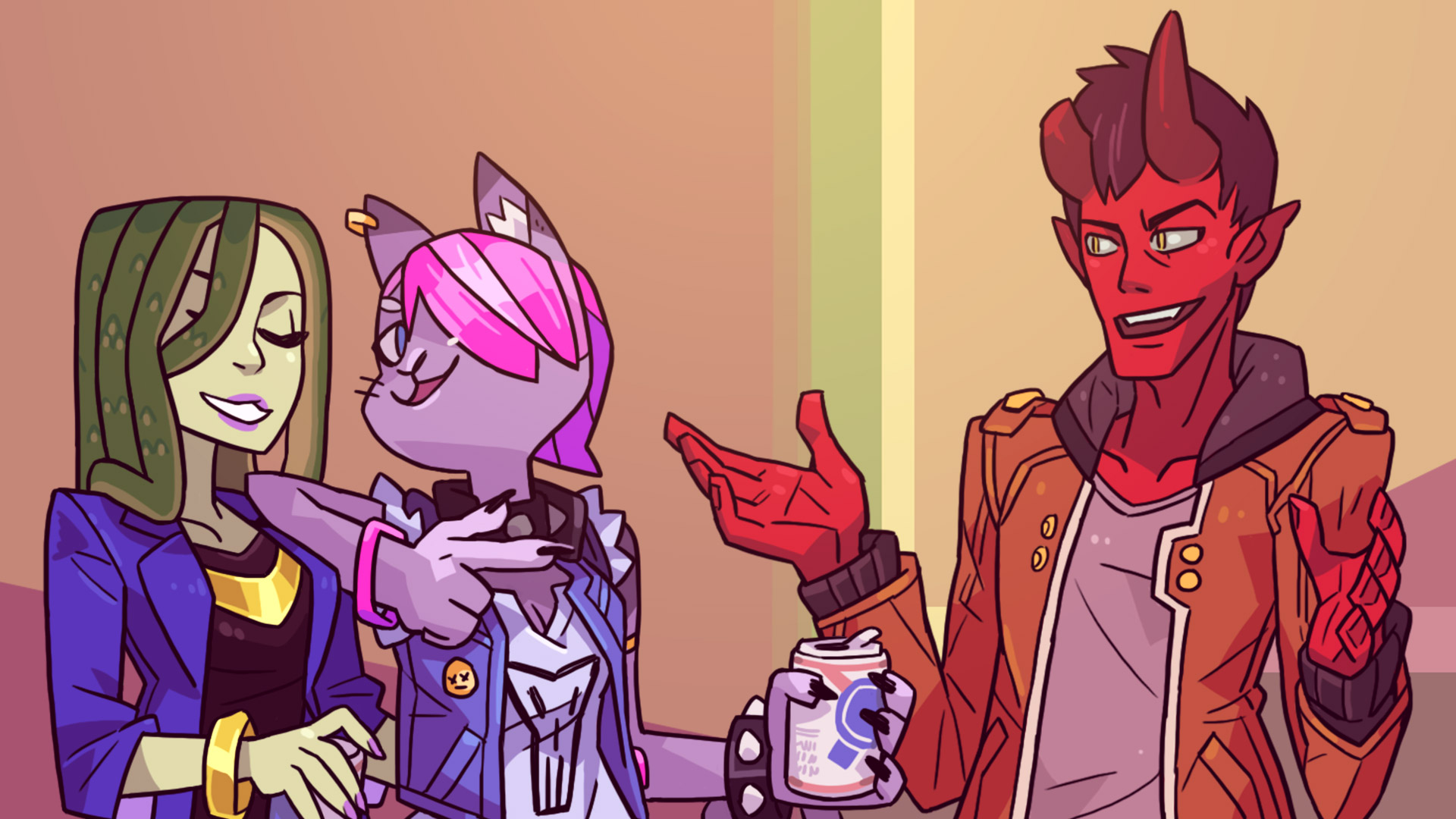 Steam card exchange showcase monster prom card 3 of 8artwork chat thecheapjerseys Gallery