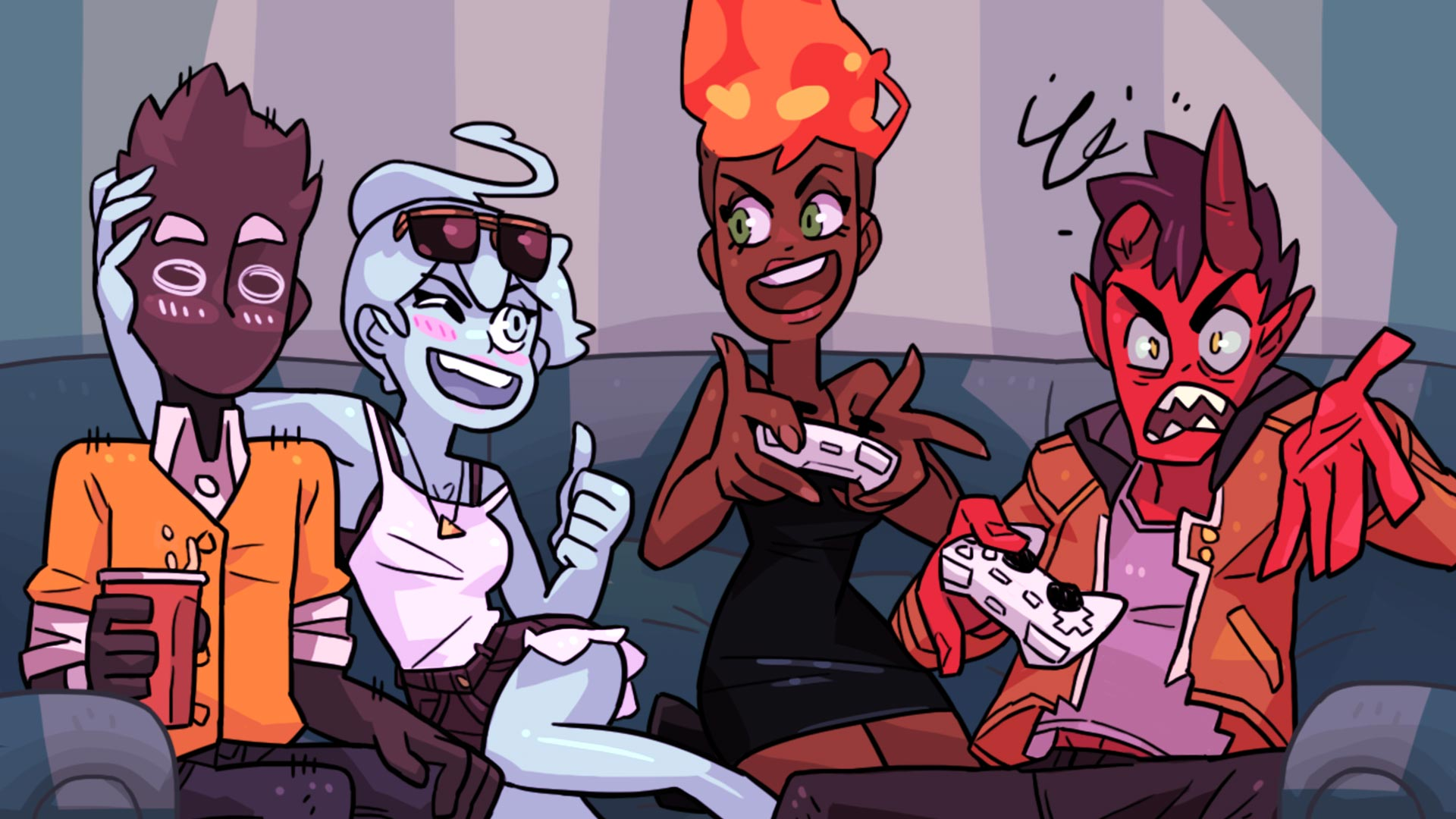 Steam card exchange showcase monster prom card 6 of 8artwork gaming thecheapjerseys Gallery
