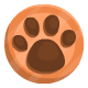 Bronze paw