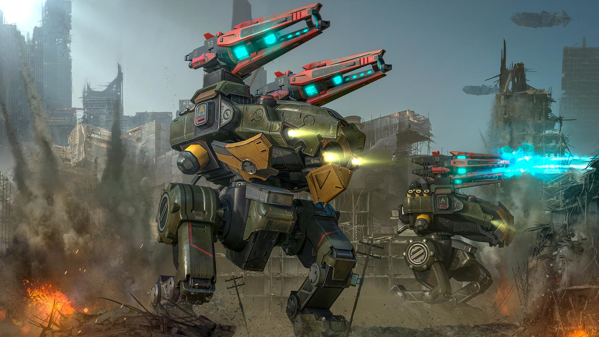 Showcase :: War Robots