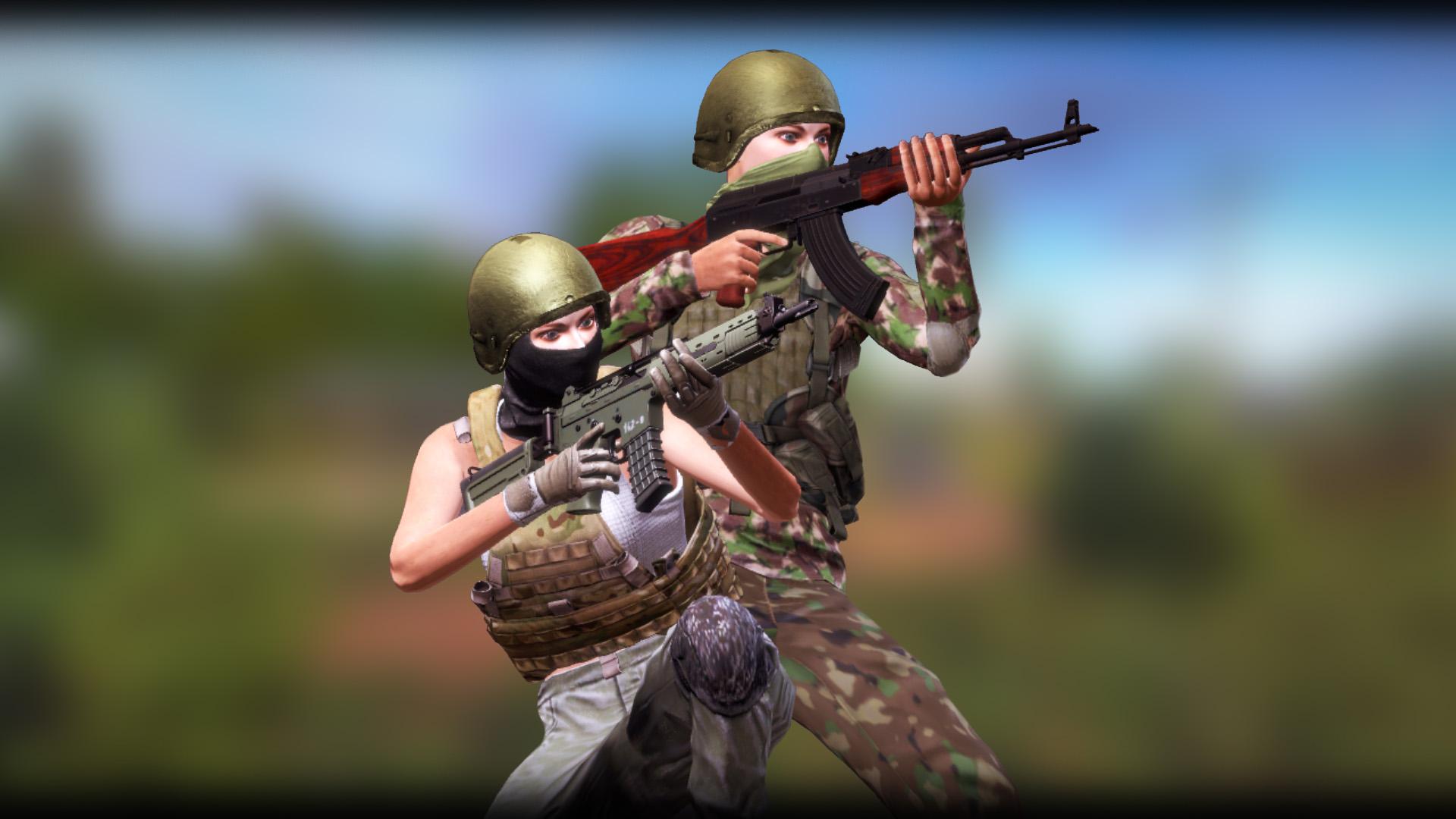 freeman guerrilla warfare weapons