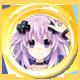 Megadimension Neptunia™ VIIR Foil Badge