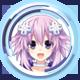 Megadimension Neptunia™ VIIR Level 1 Badge