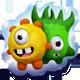 Pair of mascots