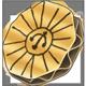 Paper badge