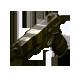 Striped gun