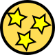3 Stars Golfer