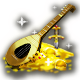 A golden lute for a true hero