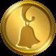 Golden shop bell