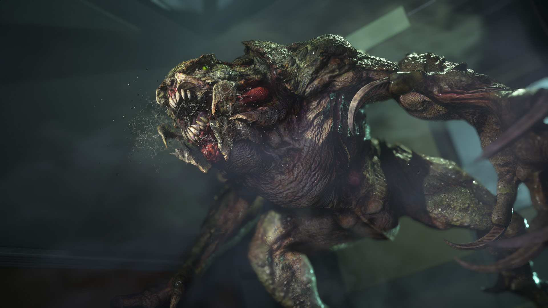 3 Super Deformation Sd Nemesis Resident Evil Movies Resin Model Kit
