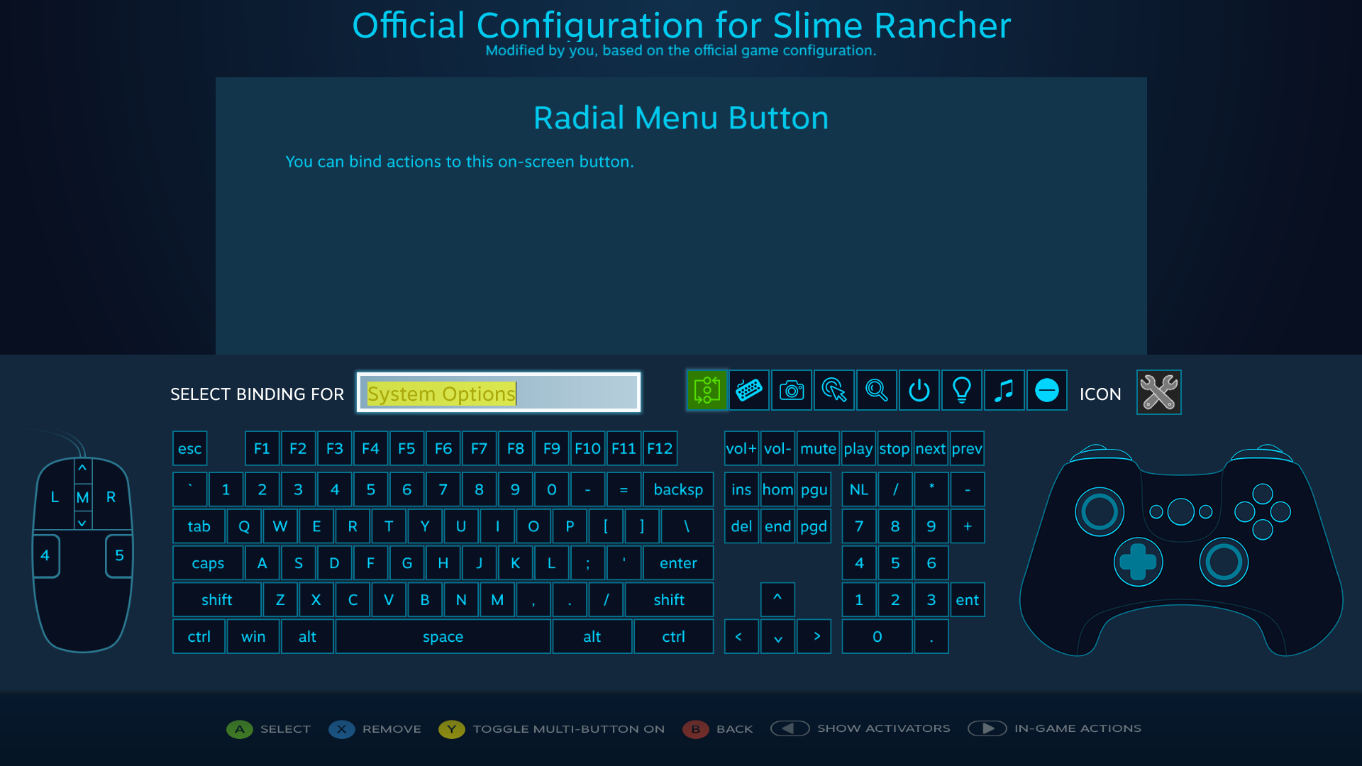 Radial Menus (Steamworks Documentation)