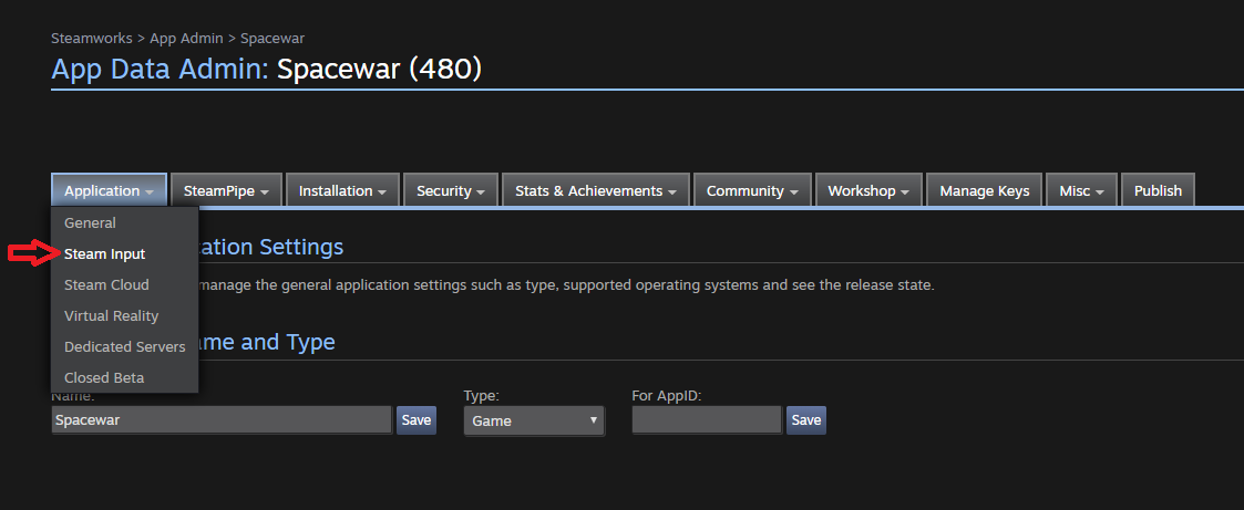 Getting Started for Developers (Steamworks Documentation)