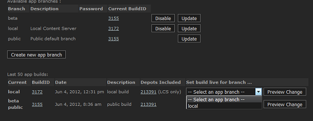 SteamPipe Local Content Server(Steamworks 문서)